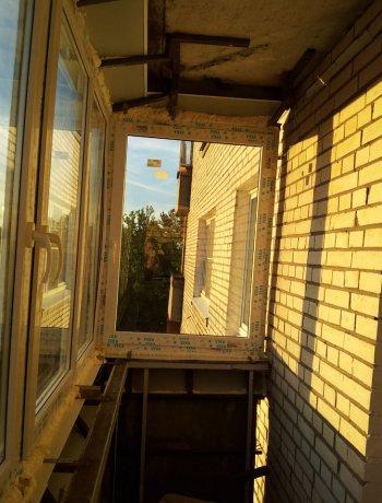 """Вынос лоджий """" окна века в санкт-петербурге: пластиковые окн."""
